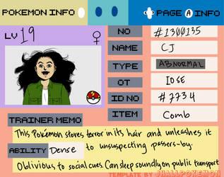 Pokemon ID by CelestialDarkMatter