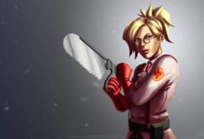 Meet the Overwatch Medic by CelestialDarkMatter