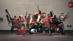 Fem Fortress 2: Meet the RED Team by CelestialDarkMatter