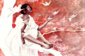 My Baby Love - paper birds by BeatrizMartinVidal