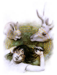 Sacred Writing by BeatrizMartinVidal