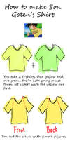 TUTORIAL - Goten's shirt by ssjbra-chan