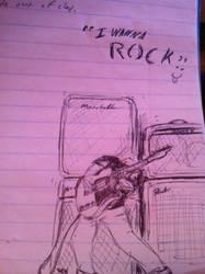 I wanna Rock by FlashhhThunderrr