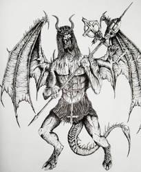 Spawn of Satan by WretchedSpawn2012