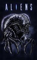 Cockroach Xenomorph by WretchedSpawn2012