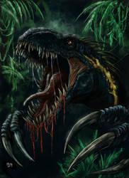 Indoraptor by WretchedSpawn2012