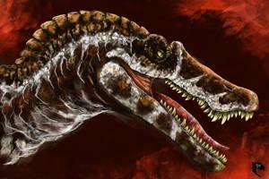 JP3 Spinosaurus by WretchedSpawn2012