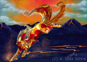 Fire Dancer by tyreenya