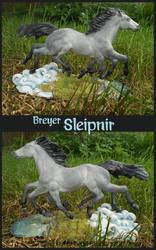 Breyer Sleipnir by tyreenya