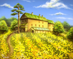 The daffodil's house by Pixx-73