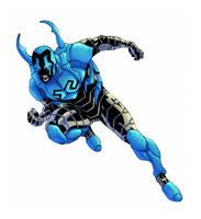 Blue Beetle Colours by Creation-Matrix