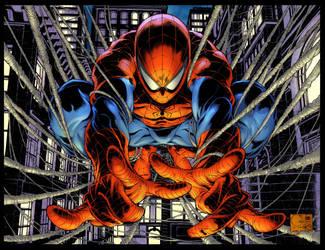 Avenging Spider-man #1 by Creation-Matrix