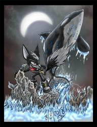 Mystic Night of the Orca by NightrazeShadow