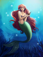 Little Mermaid by iara-art