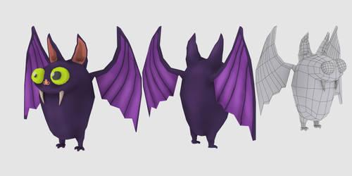 Pinc bat by DenisDrakulla