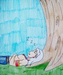 Sleeping Zen Dachi by Punisher2006
