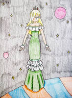 Princess Rosalina in Space 2 Redo by Punisher2006