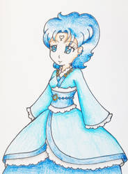 Kimono Princess Mercury by Punisher2006