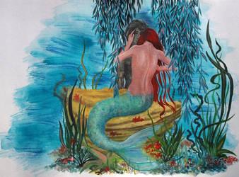 Mermaid's sorrow by NayutaU