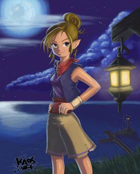 Full Moon Tetra by KaosNoKamisama