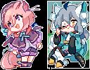[C]-Pixel bois by k-kuri