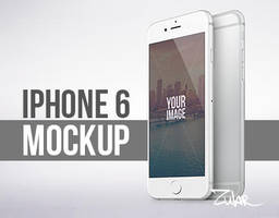 iPhone 6 and 6 Plus Vector Mockup by AlexYanko