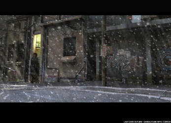 Snowing by LastDarkAutumn