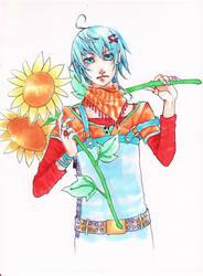 Sunflowers SIDE:A by Yishuu