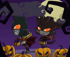 TFA - Halloween Seekers ThrustDirge by Rosey-Raven