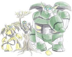 TFA - Monster BeeBulkProwl by Rosey-Raven