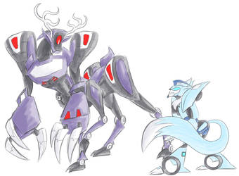 TFA - Monster ShockBlurr by Rosey-Raven