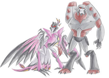 TFA - Monster MegaStar by Rosey-Raven