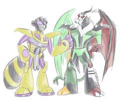 TFA - Monster Swindle Lockdown by Rosey-Raven