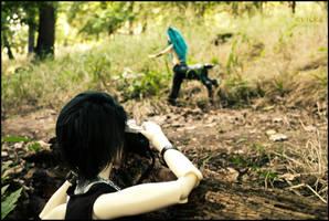 Sneak-peek photographer... by kvicka
