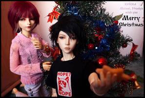 Merry Christmas by kvicka