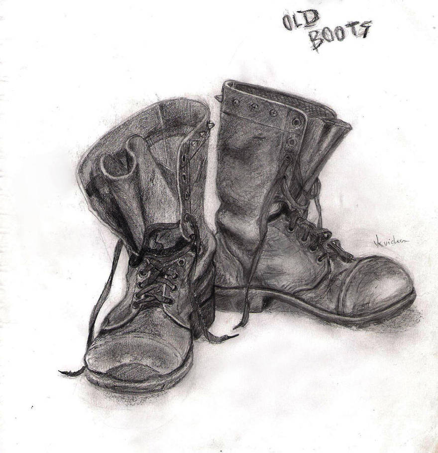 Old boots by kvicka