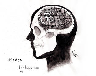 Inktober - Hidden by kvicka