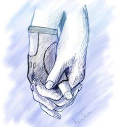 Hold my hand by kvicka