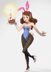 Bunny Birthday! by ashvey