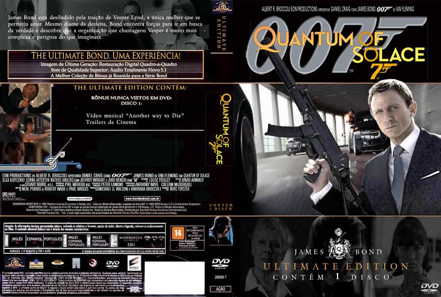 Quantum of Solace DVD custom by SpidermanRJ on DeviantArt