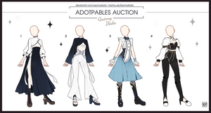[Adopt Auction] Fantasy Outfits 33 [ OPEN ] by QuinnyIlada