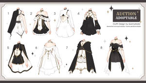 [Adopt Auction] Fantasy Outfits 34 [ CLOSE ] by QuinnyIlada