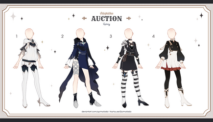 [Adopt Auction] Fantasy Outfits 40 [ OPEN ] by QuinnyIlada