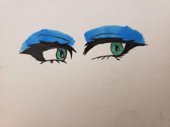 Eye practice by kc7662
