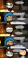 Ms. Maelstrom and her Table Issue by StubbornVirus