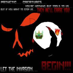 The invasion by BrandenTheKing