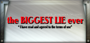 The biggest lie ever by M10tje