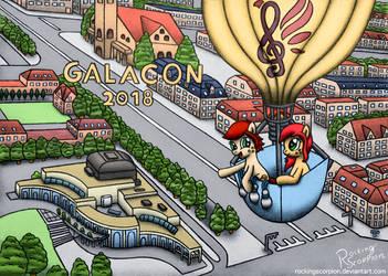 GalaCon 2018 - Around Equestria in 80 days by RockingScorpion