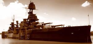 Battleship Texas by texanidiot25