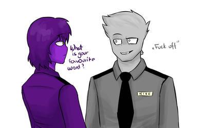 Favourite Word by PurpleMonsterEyJ